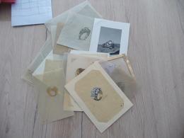 Archive  De 27 Dessins Calques Photos Bijoux Anciens Maison Aubertin Passage Hôtel Dieu Lyon - Bijoux & Horlogerie