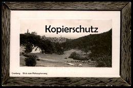 ALTE KARTE CRONBERG BLICK VOM PHILOSOPHENWEG HERZLICHEN GLÜCKWUNSCH Kronberg Passepartout Postcard Cpa - Kronberg