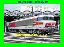 AL 578 - Loco CC 6573 Au Dépôt - PARIS CHAROLAIS - SNCF - Matériel