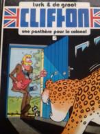 Une Panthère Pour Le Colonel TURK DE GROOT Le Lombard 1982 - Clifton