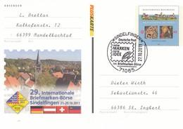 5  29.Internationale Briefmarken-Börse Sindelfingen 27.-29-10..2011, Sindelfingen - [7] Federal Republic