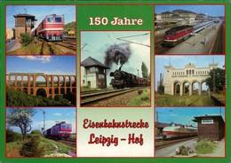 Ansichtskarte Ansichtskarte Leipzig Eisenbahnstrecke: Leipzig - Hof 2002 - Leipzig
