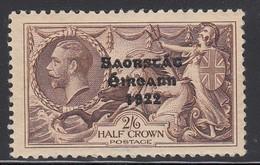 IRLANDA 1935 SG99  2/6d CHOCOLATE BROWN  SUPERB STAMP FULL PERF. MINT LH - 1922-37 Irischer Freistaat