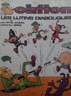 Les Lutins Diaboliques JO-EL AZARA Le Lombard 1971 - Clifton