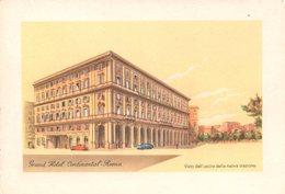 Roma  -  Grand Hotel Continental - Altri