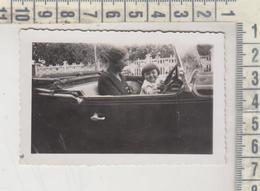 Pesaro Fotografia Originale In Auto D'epoca Costumi 1933 - Lieux