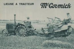 CPA MC CORMICK @ TRACTEUR @ - Tracteurs