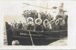 83. ST MANDRIER.  CARTE PHOTO   BATEAU - Saint-Mandrier-sur-Mer