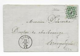 Cob 30   1871 Alost Aalst  Bracquegnies - 1869-1883 Léopold II