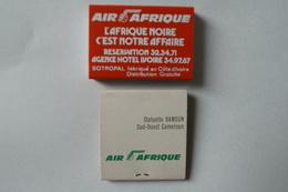Boites Allumettes Aviation Air Afrique - Boites D'allumettes
