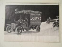 Camion De Livraison DELAHAYE  Des Grands Magasins Du Louvre  - Coupure De Presse De 1912 - Camions