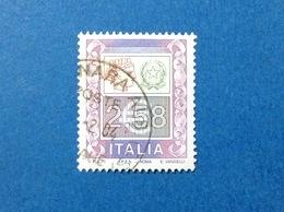 2002 ITALIA FRANCOBOLLO USATO ITALY STAMP USED ALTI VALORI ALTO VALORE 2,58 - 2001-10: Used