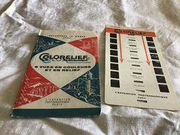Découvrez Le Monde Avec Colorelief Chamonix - Vieux Papiers