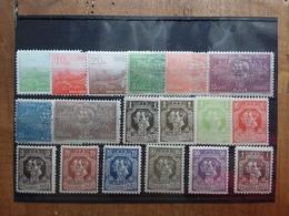 SERBIA 1904/20 - 18 Francobolli Differenti Nuovi ** + Spese Postali - Serbia