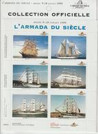 France Vignettes Bateaux Armada Rouen 1999 - Erinnophilie