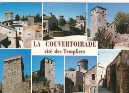 CP  LA COUVERTOIRADE 12 AVEYRON - MULTIVUES - CITE DES TEMPLIERS - France