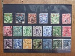 EX COLONIE INGLESI 1896/1920 - ZANZIBAR - Lotticino 20 Differenti Timbrati (3 Valori Denti Corti) + Spese Postali - Zanzibar (...-1963)