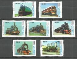 Uzbekistan 1999 Year, Mint Stamps MNH (**)  Trains - Uzbekistan