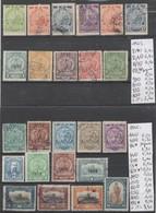 TIMBRES DU PARAGUAY NEUF**/*/(*)OBLITEREES 1892-191923 -4023 Nr VOIR SUR PAPIER AVEC TIMBRES COTE 170.20  € - Paraguay