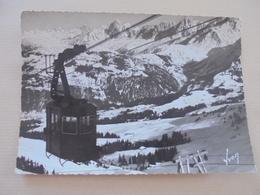 CARTE POSTALE SAINT GERVAIS TELEPHERIQUE 1945 - Saint-Gervais-les-Bains