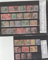 TIMBRES DE MALAISIE NEUF/*/OBLITEREES 1901-21-34 Nr VOIR SUR PAPIER AVEC TIMBRES COTE 76 € - Malaysia (1964-...)