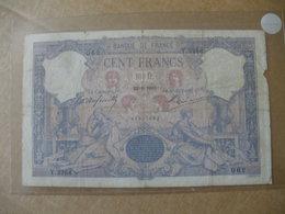 BILLET DE 100F BLEU ET ROSE DU 22/06/1901 FAYETTE 21/14 - 1871-1952 Anciens Francs Circulés Au XXème