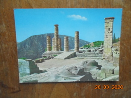 Delphi. The Temple Of Apollo, The Columns. Kruger 1166/5 - Grèce