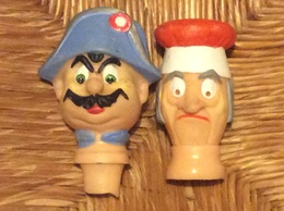 2 TÊTES MARIONNETTES - Puppets