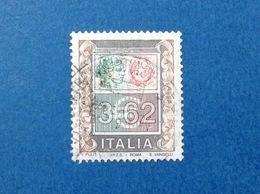 2002 ITALIA FRANCOBOLLO USATO ITALY STAMP USED ALTI VALORI ALTO VALORE 3,62 - 6. 1946-.. Repubblica