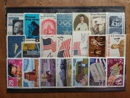 STATI UNITI Anni '60/'90 - 21 Francobolli Differenti Nuovi ** + Spese Postali - Stati Uniti