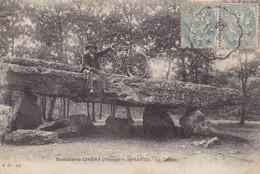 ENVIRONS DE CIVRAY - Saint-Saviol - Le Dolmen - Civray