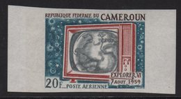 Cameroun - PA N°110 Non Dentele ** - Telecommunication Par Satellite - Cameroun (1960-...)