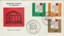 Cameroun FDC 1963 Unesco 369-71 - Cameroun (1960-...)