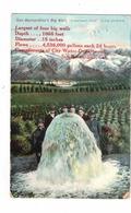 SAN BERNARDINO, California, USA, The Big Well, Compliments Of City Water Department, 1909 Newman Postcard - San Bernardino