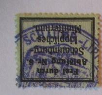 Ministerium Schaumburg Lippe, Frei Durch Ablösung Nr. 8 (22080) - Militaria