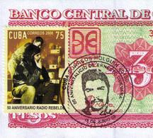 CUBA 3 PESOS CONMEMORATIVOS CHE UNC-SC - Cuba