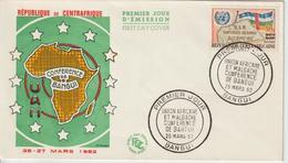 Centrafrique FDC 1962 UAM Conf. De Bangui 19 - Central African Republic