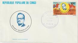 Congo FDC 1979 S Allende 548 - FDC