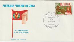 Congo FDC 1979 Anniversaire Révolution 550 - FDC