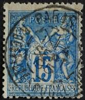 -Sage N°101  Type Ll.(CAD) O  PARIS R DES FILLES DU CALVAIRE 4 SEPT 1895. - 1876-1898 Sage (Type II)