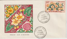 Congo FDC 1961 Fleurs PA 4 - FDC