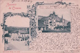 Souvenir De Cressier NE (29.9.1899) - NE Neuchâtel