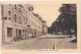 Clervaux - Bifurcation Près De La Gare - & Motorbike - Clervaux
