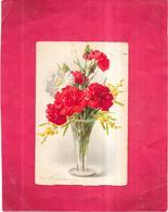 ILLUSTRATEUR   -  CPA COLORISEE -   Bouquet De Fleurs - VIS - - Autres Illustrateurs