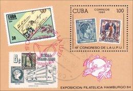 Cuba UPU Hamburg 84 (A53-211a) - Cuba