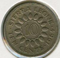 Sierra Leone 10 Cents 1964 KM 19 - Sierra Leone