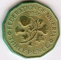 Nigeria 3 Pence 1959 KM 3 - Nigeria
