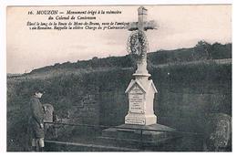 CPA MOUZON Monument Du Colonel De Contenson - France