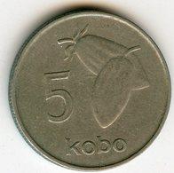 Nigeria 5 Kobo 1973 KM 9.1 - Nigeria