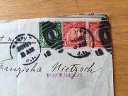 FL3525 Philippinen 1912 Brief Von Manila Nach Chemnitz Paquebot - Filippijnen